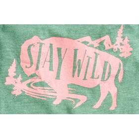 United By Blue Stay Wild Tank Top Mädchen fern green
